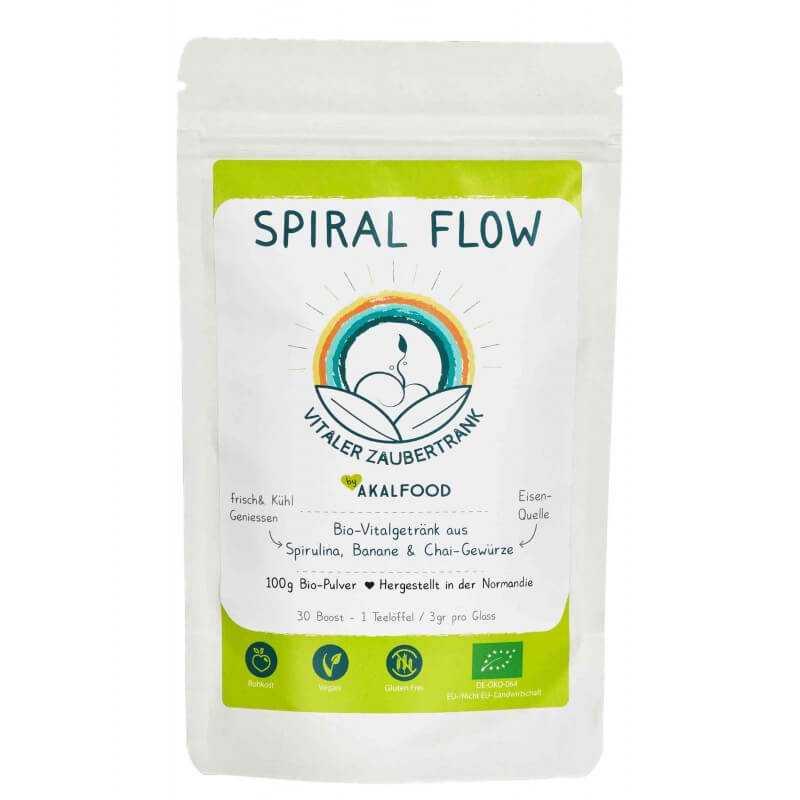 SPIRAL FLOW - Getränkepulver zum Revitalisieren 100g Beutel