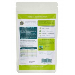 SPIRTONIC – Bio Energypulver 100g Etiket