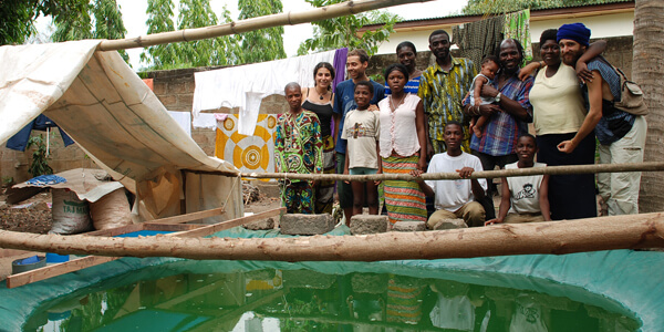 Spirulina in Afrika Entwicklungshilfe