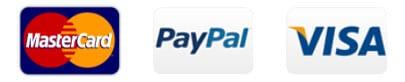 Paypal Plus, VISA, Paypal und Mastercard